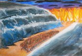 crossing_of_red_sea___pastels_by_pawlis-d4b3hsp
