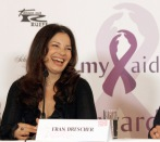 Fran Drescher at a press conference for the charity ball 'dancer against cancer'